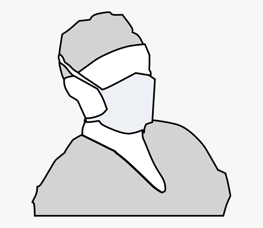 Dentist Mask Clipart.