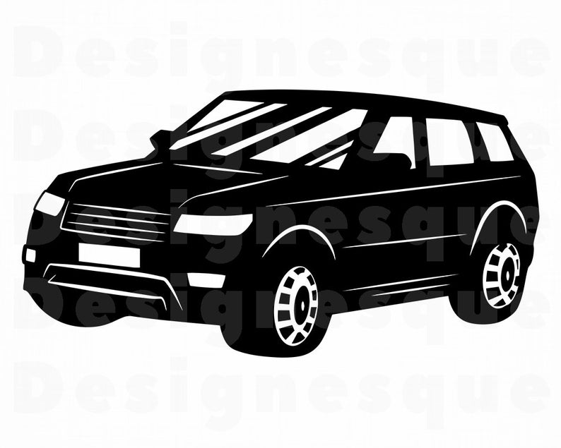 SUV Car SVG, Suv SVG, Suv Car Clipart, Suv Car Files for Cricut, Suv Car  Cut Files For Silhouette, Suv Car Dxf, Suv Car Png, Car Eps, Vector.