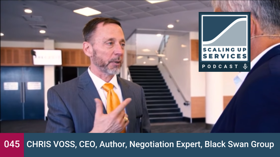 Chris Voss, CEO, Author, Negotiation Expert, Black Swan Group.