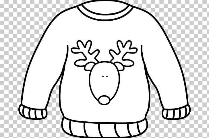 Sweater Christmas Jumper White Cardigan PNG, Clipart, Black.