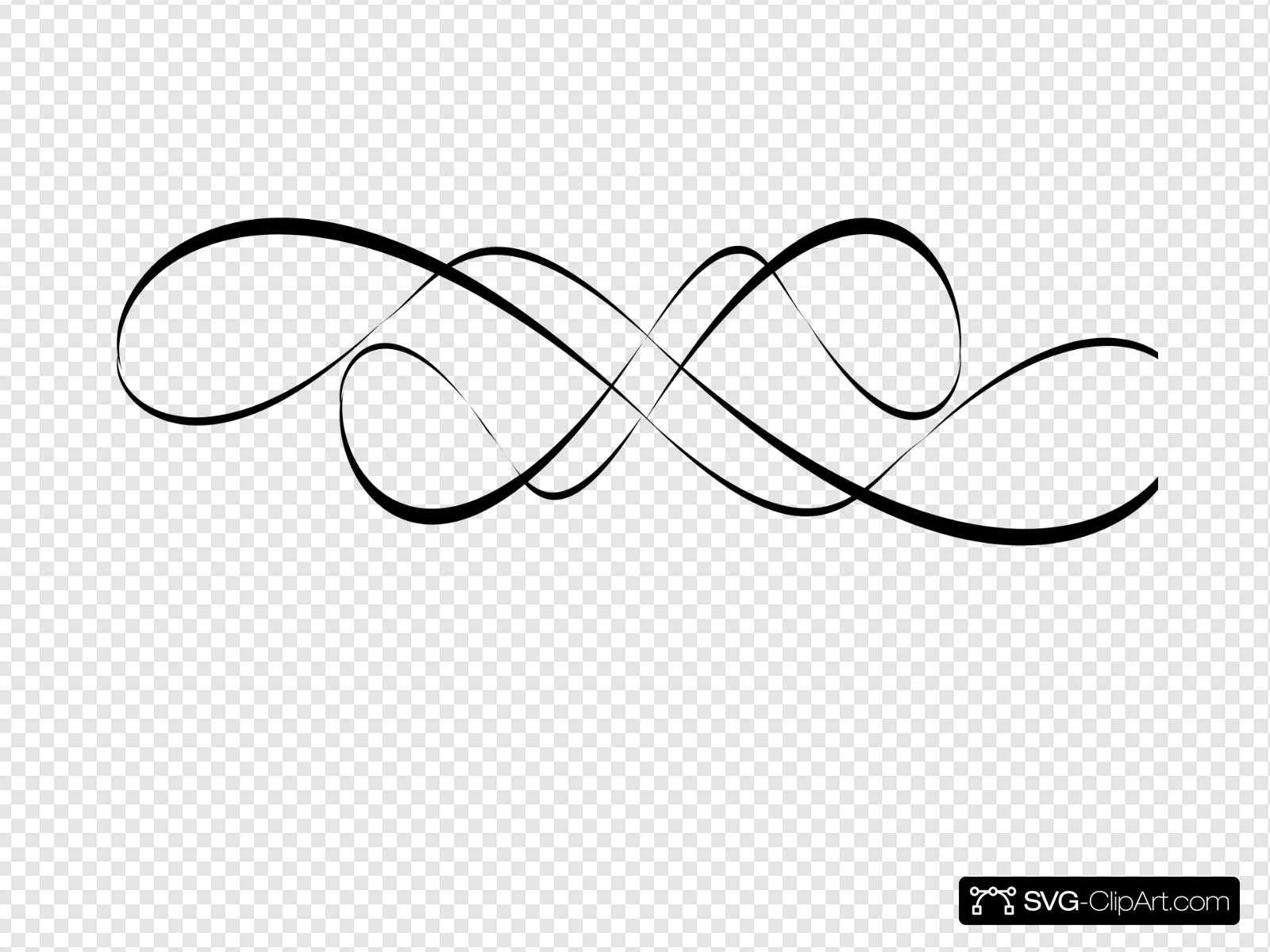 Swirl Design Black Clip art, Icon and SVG.