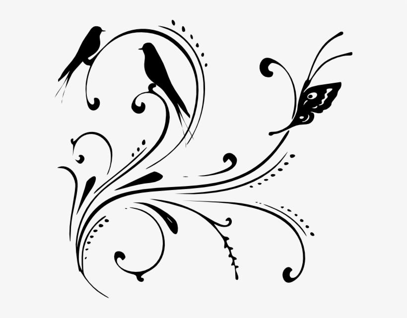 Black Swirl Clip Art.