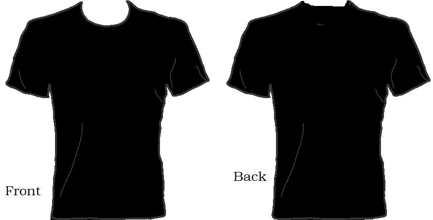 Black Shirt Cliparts.