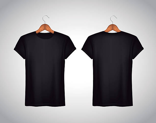 Best Black T Shirt Illustrations, Royalty.