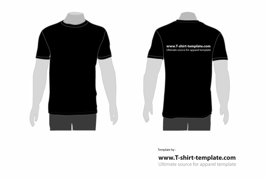 Clip Art Library Stock Free Moder T Template Back Tshirt.