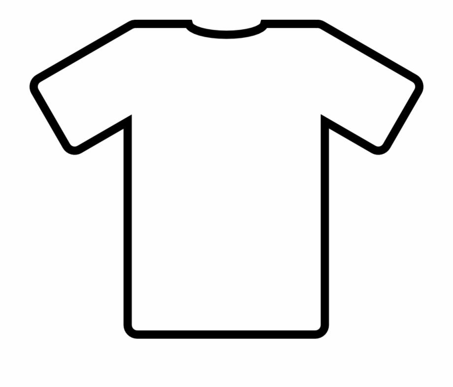 T Shirt Outline Comments Transparent T Shirt Outline.