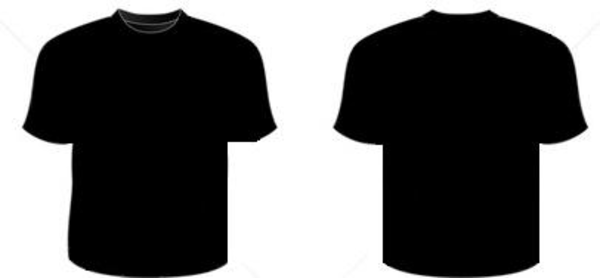 T Shirt Png Front And Back Vector, Clipart, PSD.