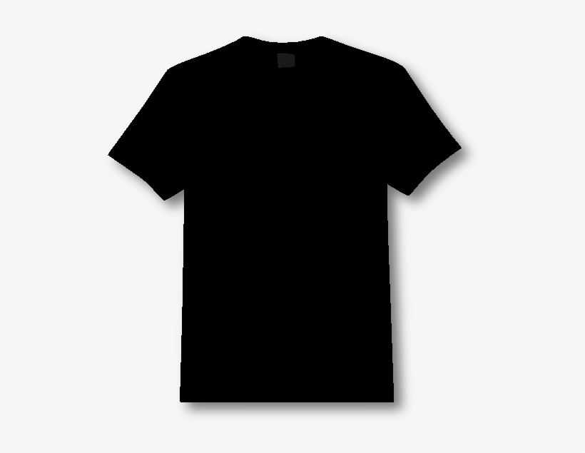 Black Tshirt Front And Back Png Vector Black And White.