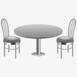 PNG Table And Chair Cliparts & Cartoons Free Download.