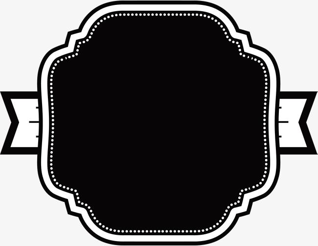 Black Label Clipart.