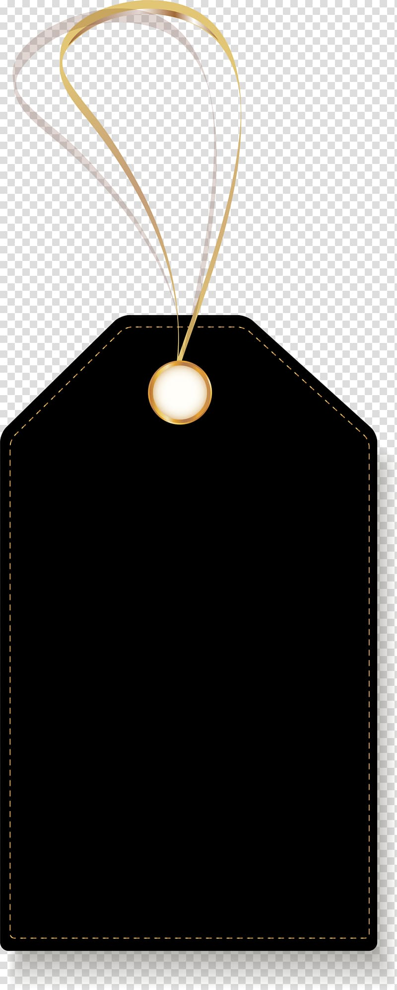 Product tag template, Price Tag Google Black, Black.