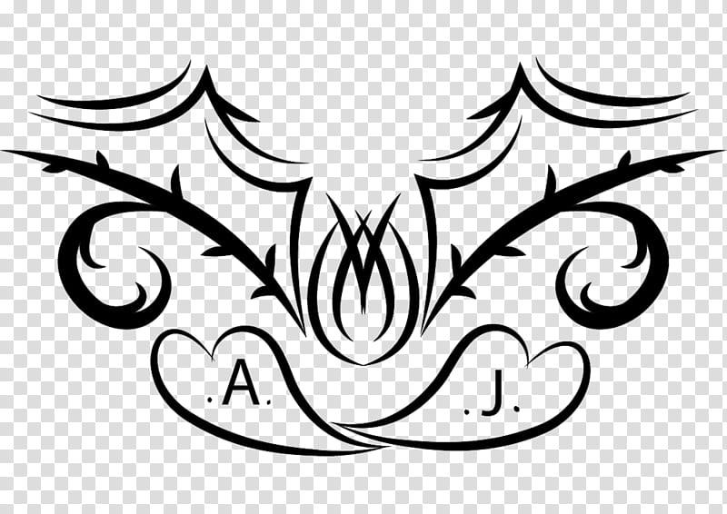Tattoo design, black tattoo art transparent background PNG.