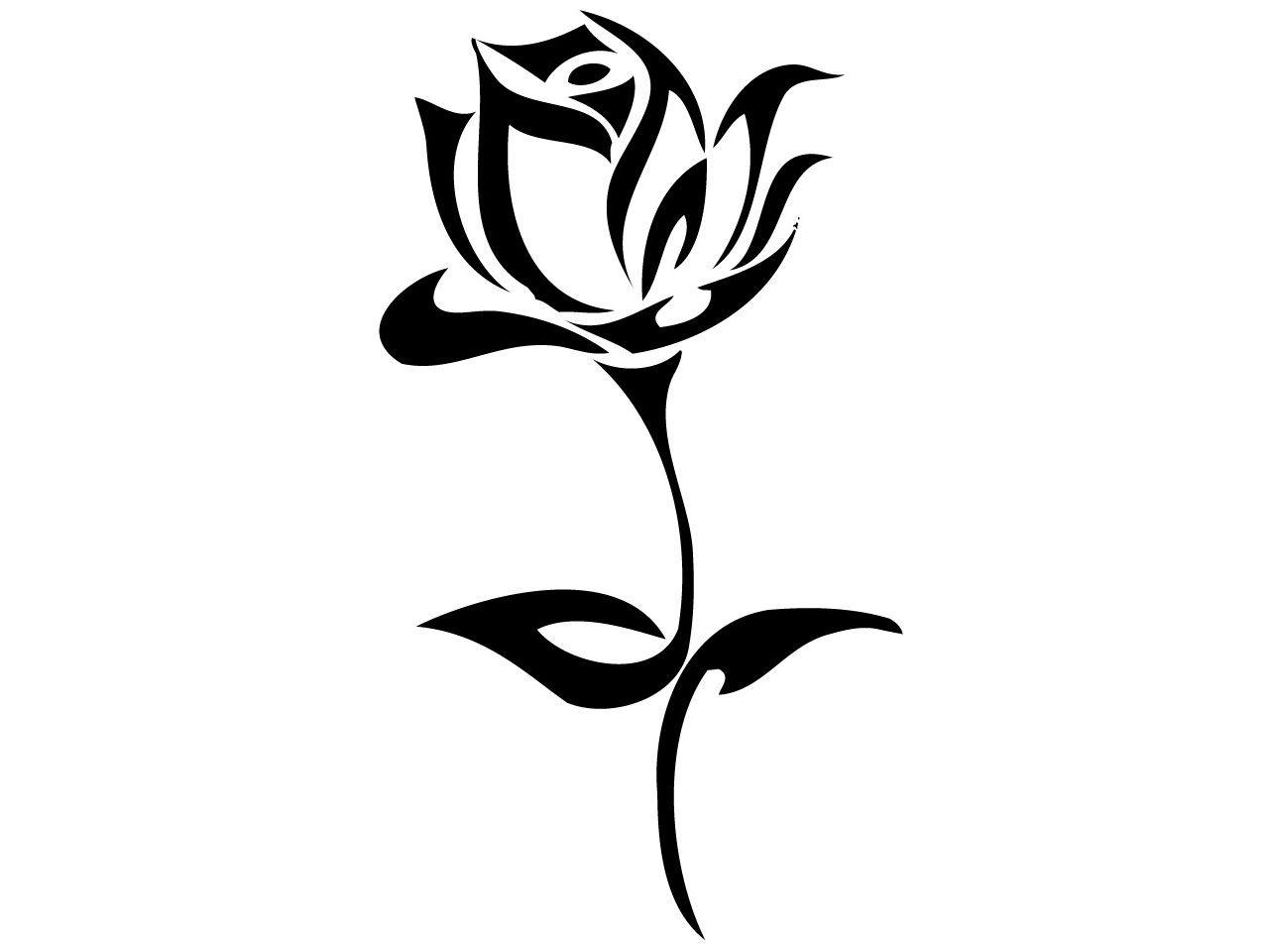 Black And White Sunflower Tattoo.