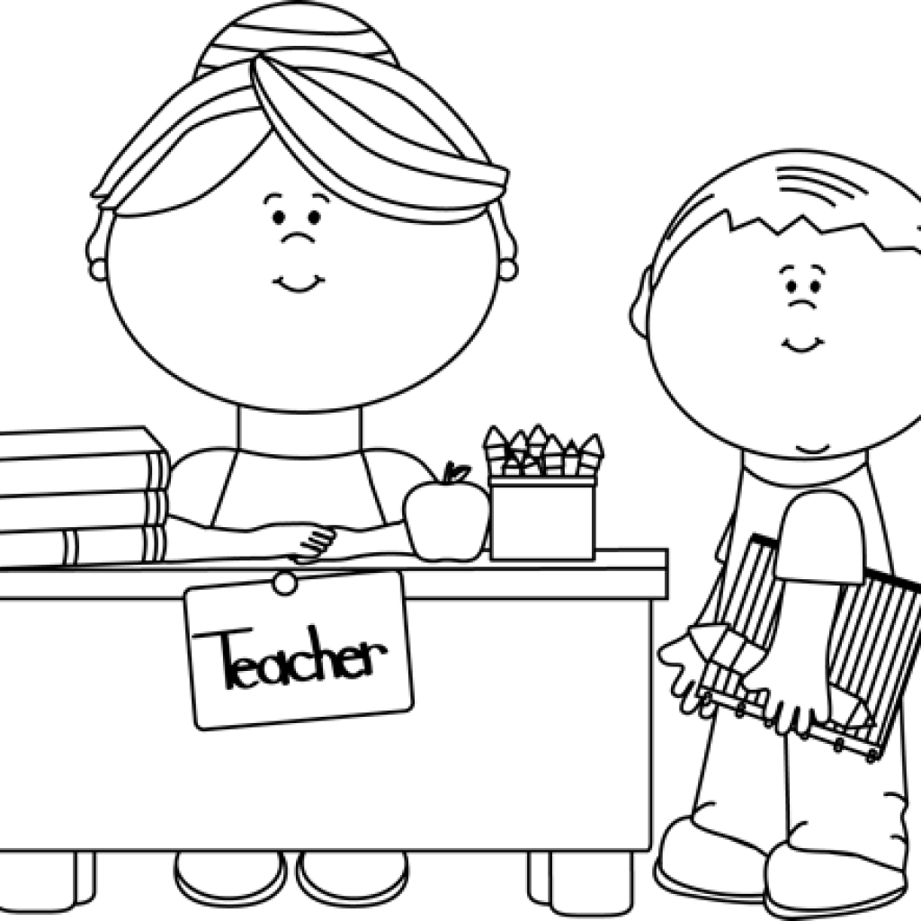 Clipart teacher black and white, Picture #696157 clipart.