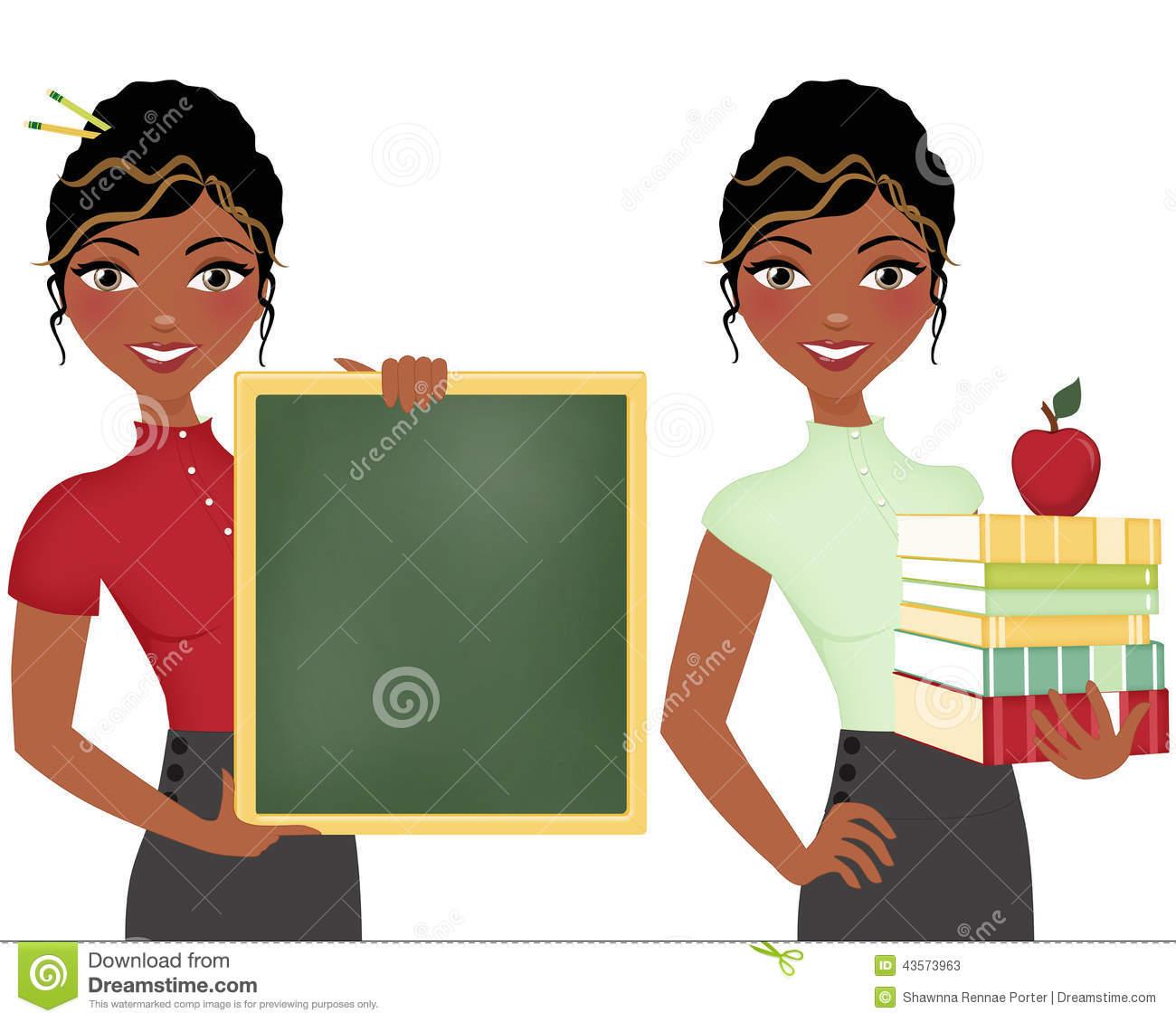 Black teacher clipart 5 » Clipart Station.
