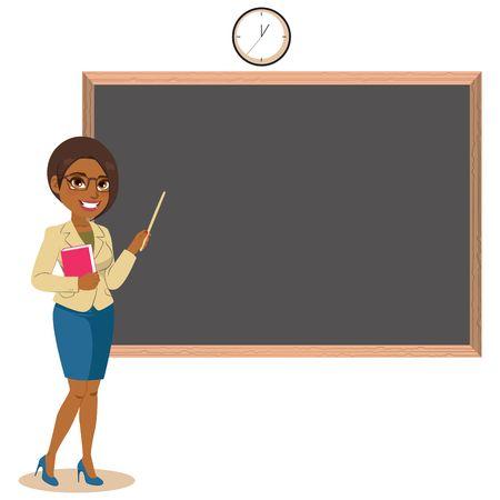 15,213 Black Teacher Stock Vector Illustration And Royalty Free.