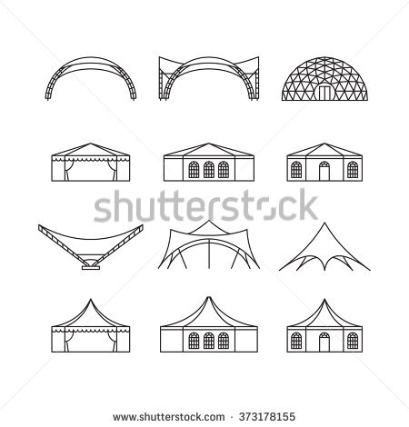 Tent Stock Images, Royalty.