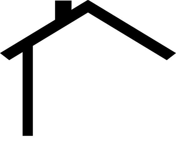 House Roof Clip Art.