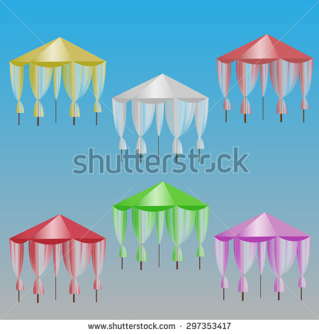 Folding Gazebo Stock Vectors & Vector Clip Art.