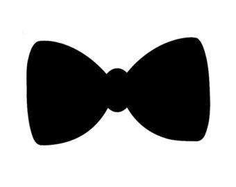 Bow Tie Die Cuts Bow Tie Cutouts Bow Tie Cut Outs Set of.