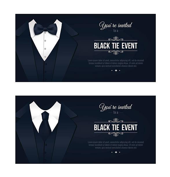 Best Black Tie Illustrations, Royalty.