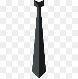 Black Tie PNG Images.