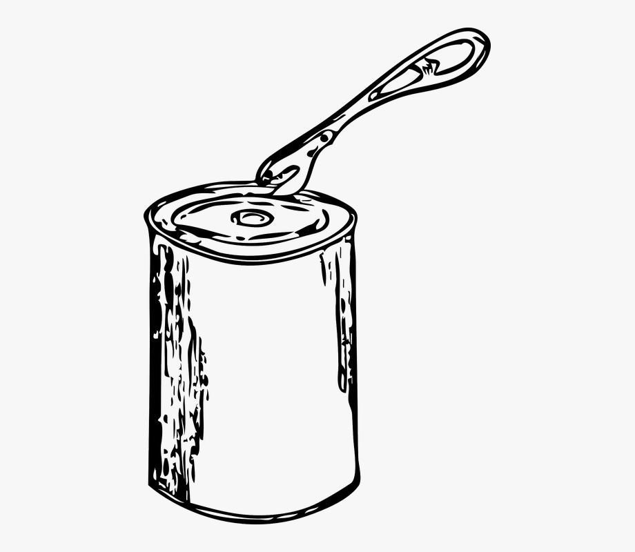 Paint, Can, Metal, Open, Tin, Opener.