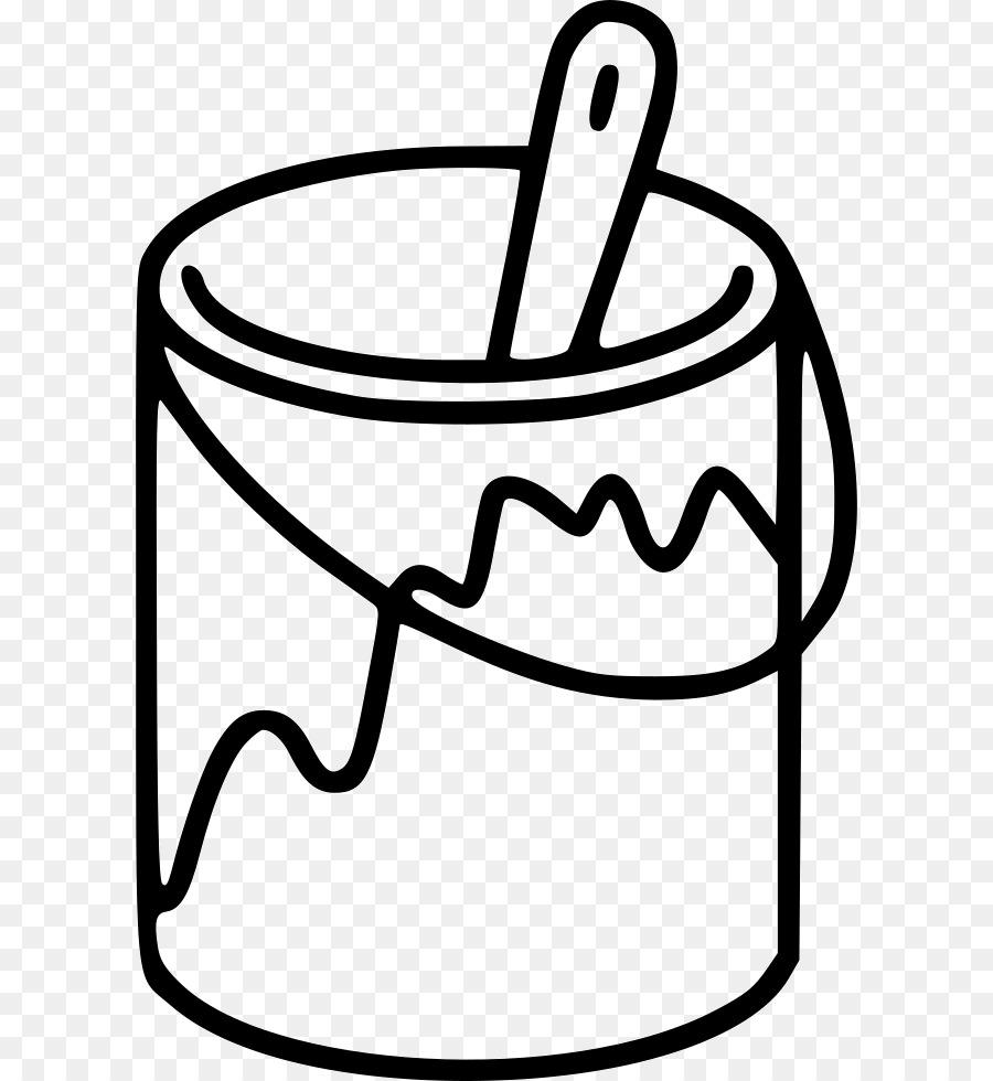 Paint Brush Cartoon clipart.