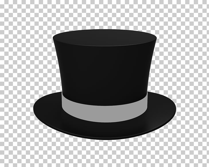 Top hat , hats, black and gray top hat illustration PNG.