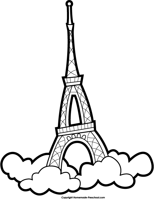 Free Eiffel Tower Clipart.
