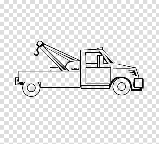 Mater Car Pickup truck Tow truck Coloring book, Drag and.