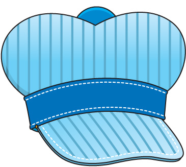 Train Conductor Hat Clipart.
