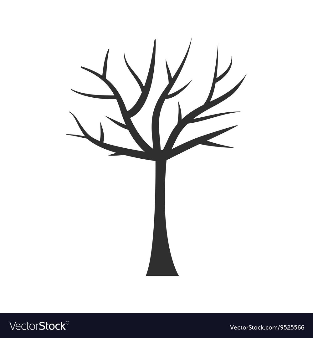 Tree trunk silhouette Tree branch Plant clip art.