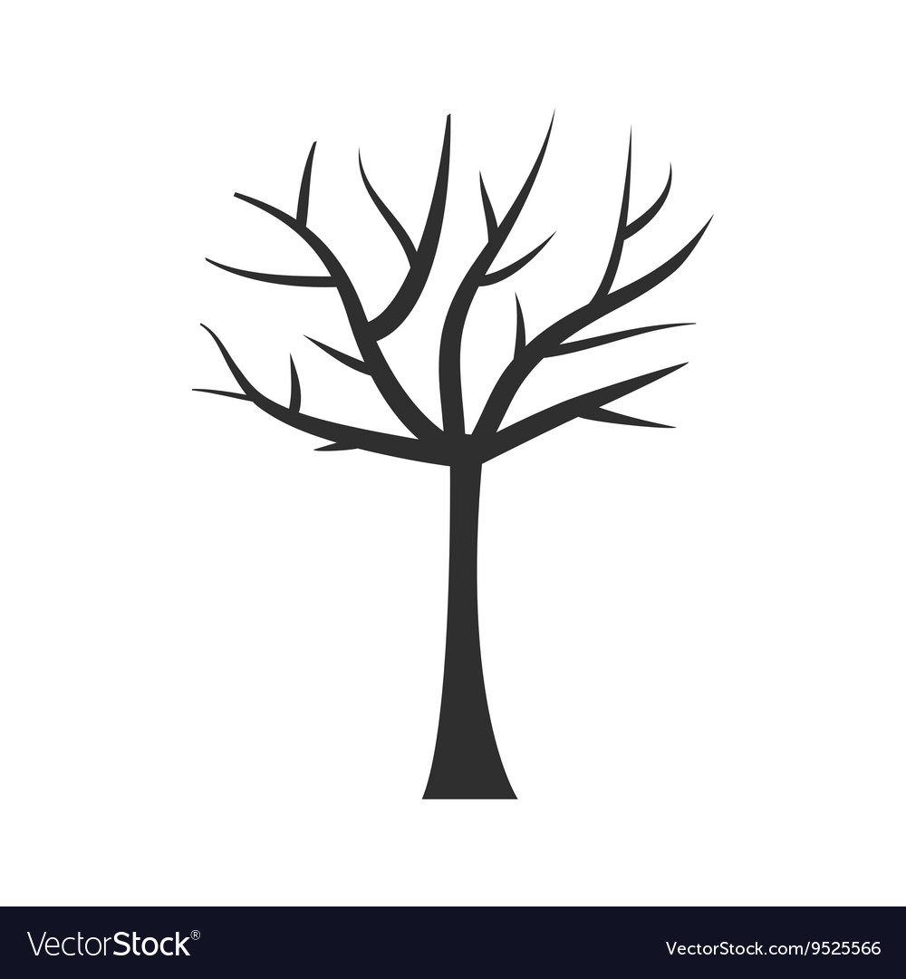 Tree trunk silhouette Tree branch Plant clip art.