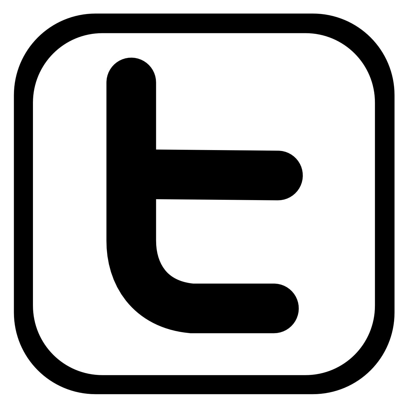 Twitter Icon Clipart.