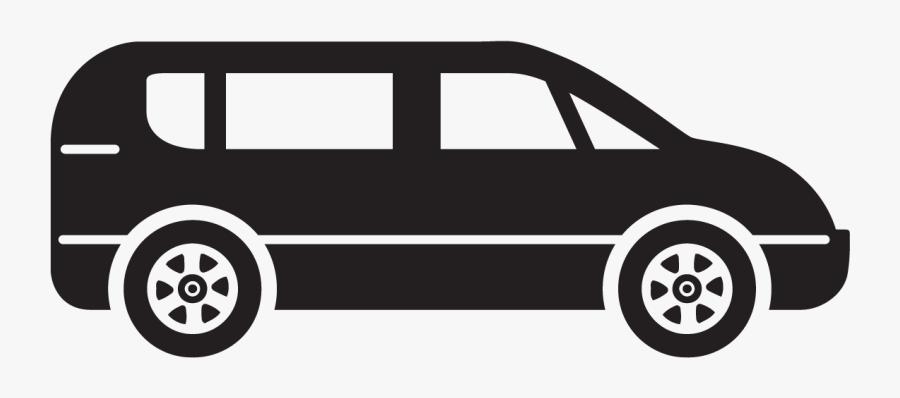 Minivan Clipart.