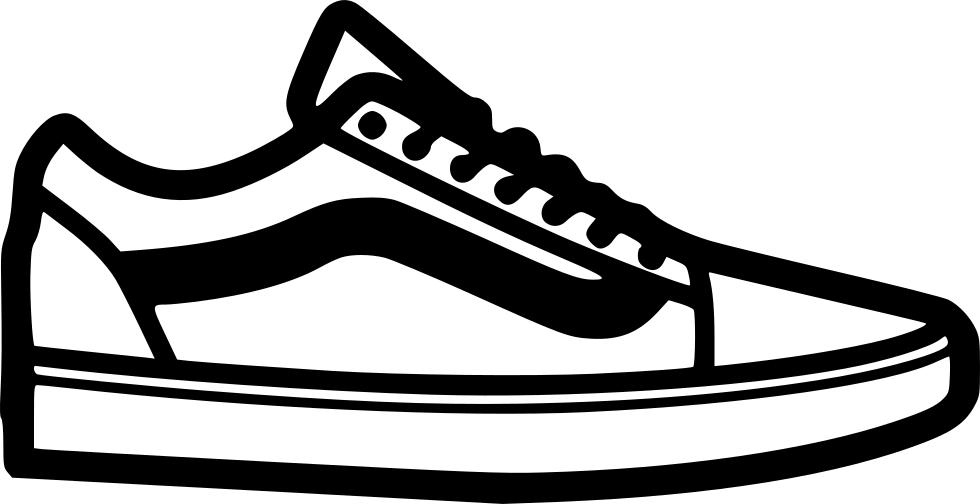 Vans Skate shoe Clip art.