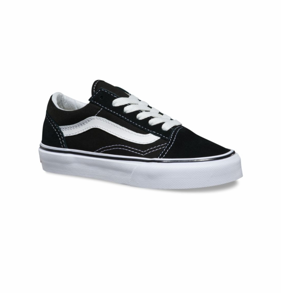 Vans Kids Old Skool Black/true White.