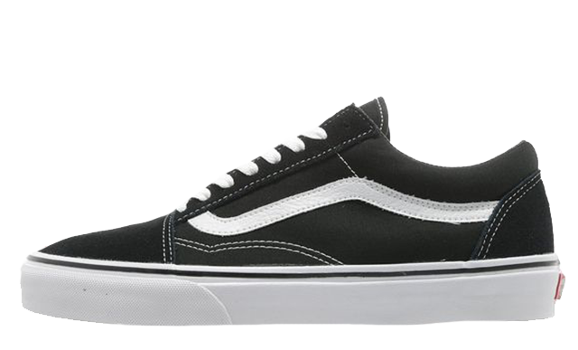 Vans Old Skool Black White.