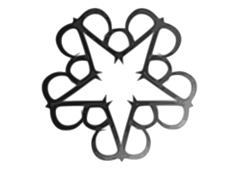 File:Black Veil Brides star logo 2.svg.