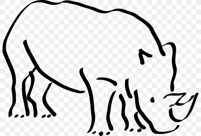 Black Rhinoceros White Rhinoceros Rhino! Rhino! Clip Art.