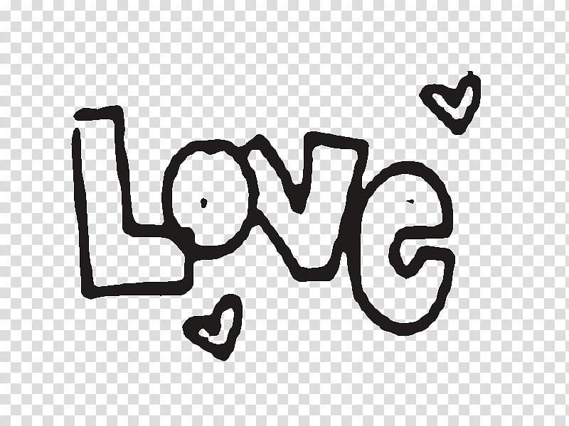 Love, black love text transparent background PNG clipart.