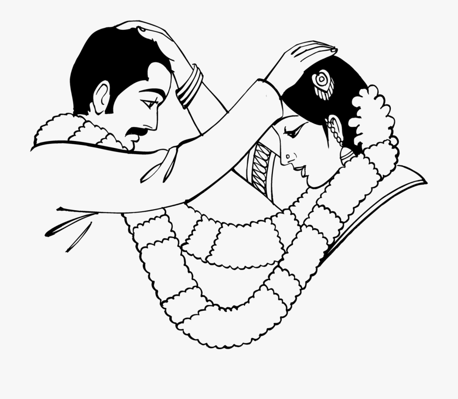 Indian Clipart Marriage.