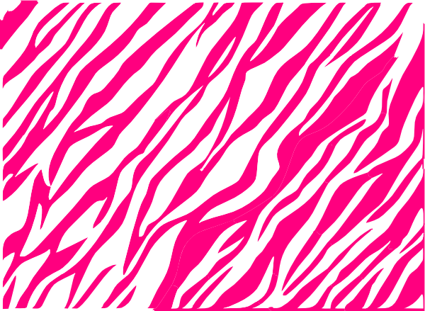 Pink black and white zebra print background.