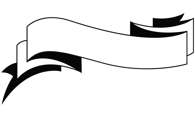 White Banner Clipart Png.