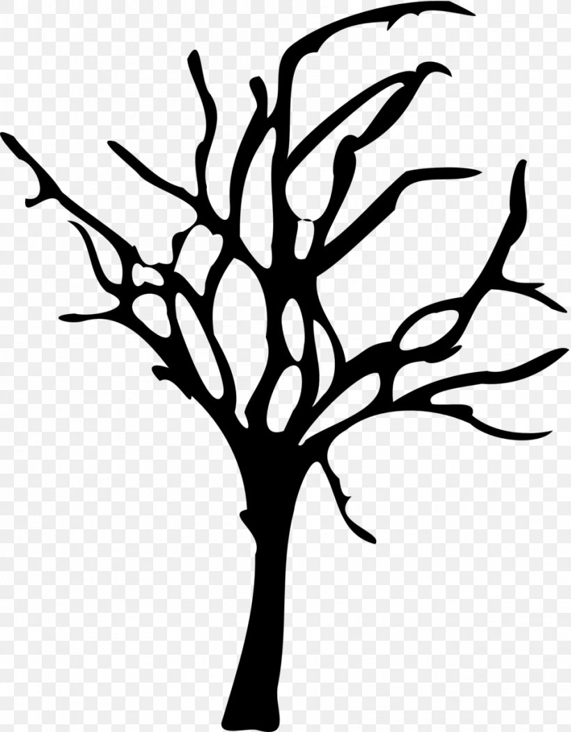 Tree Branch Clip Art, PNG, 958x1228px, Tree, Artwork, Black.