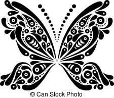 Black white butterfly Clip Art Vector Graphics. 7,319 Black white.