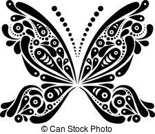 Black white butterfly Clip Art Vector Graphics. 7,319 Black white.