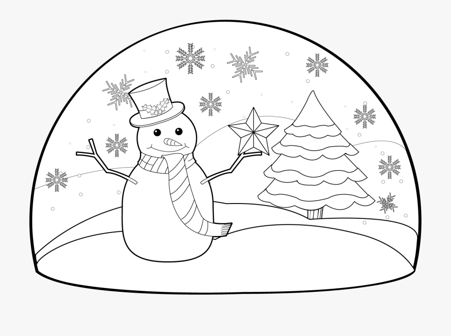 Black And White Holiday Clipart.