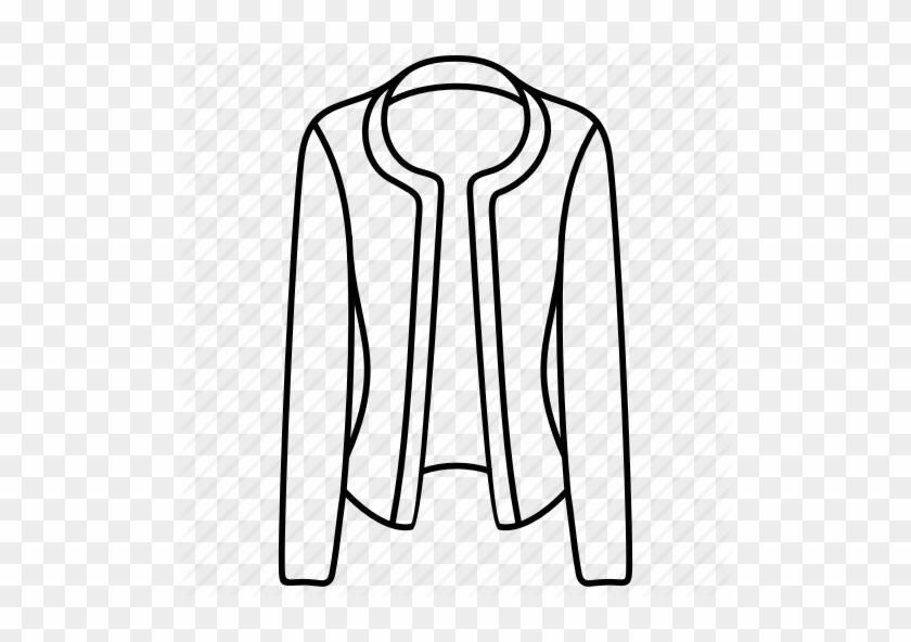 Drawing Jackets Clip Art Black And White Stock.
